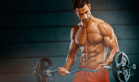 Cable Bicep Curl - Barbell Drag Curl