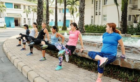 Exercises For Flabby Arms Over 60 - Bench Dip women