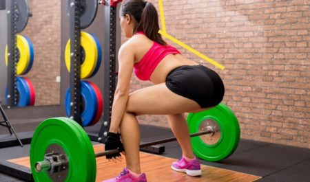 Hip Extension Exercises - Correct Barbell Deadlift