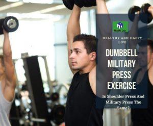 Dumbbell Military Press