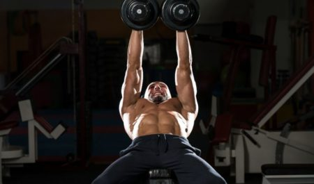 Inner Chest Workout - Dumbbell Squeeze Press