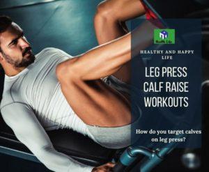 Leg Press Calf Raise