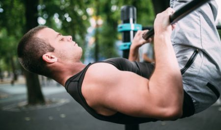 Wide Grip Pulldown - Low Bar Pull Up workout
