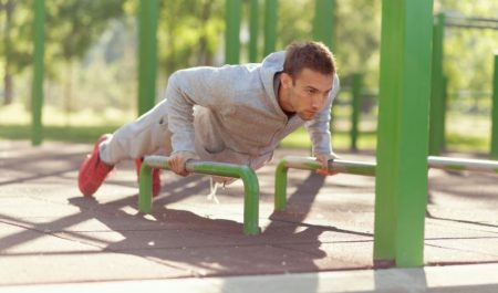 Serratus Anterior Exercises - Modified Push-Ups