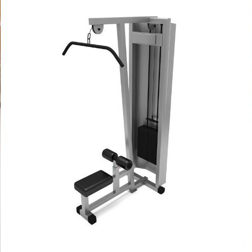 Wide Grip Pulldown - Pulldown Machine