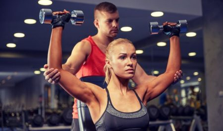 Seated Dumbbell Press - Seated Dumbbell Overhead Press