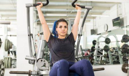 Shoulder Press Machine - Seated Shoulder Press Workout