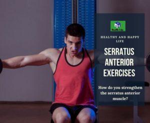 Serratus Anterior Exercises