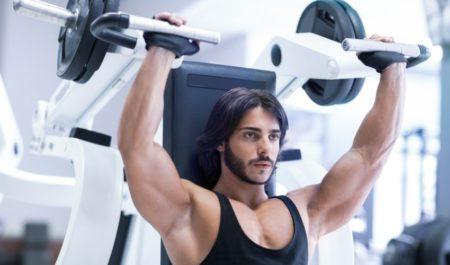 Shoulder Press Machine - Shoulder Workout