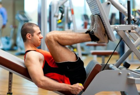 Leg Press Calf Raise - calves exercises