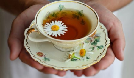 Flat Belly Tea - cup of tea