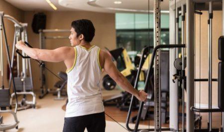 Shoulder Press Machine - deltoid lateral raise workout