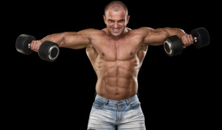 Dumbbell Military Press - dumbbell Lateral Raise