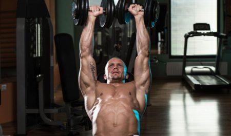 Serratus Anterior Exercises - incline dumbbell front raise