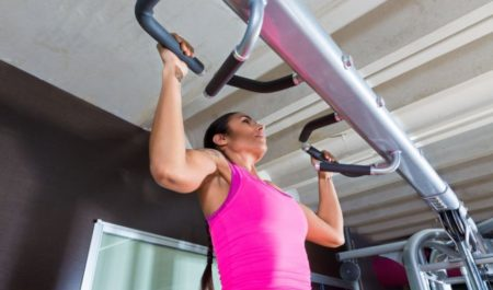 How Many Exercises Per Workout - pull-up exercise.