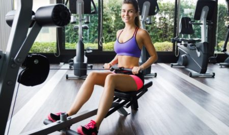 Upper Body Cardio - seated cable row