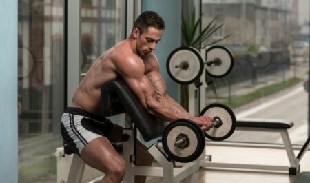 Reverse Barbell Curl - Barbell Wrist Curl