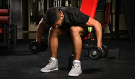 Bent Over Lateral Raise On Bench