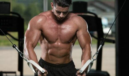 Lower Chest Workouts - Cable Crossover Lower Chest