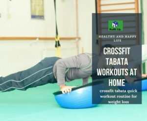 Crossfit Tabata Workouts At Home