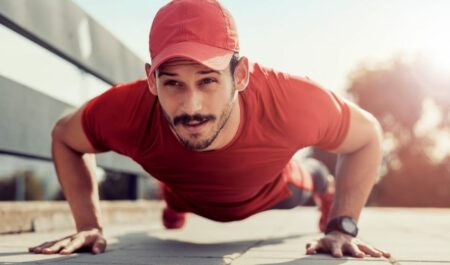 Lower Chest Workouts - Dip Push-Ups