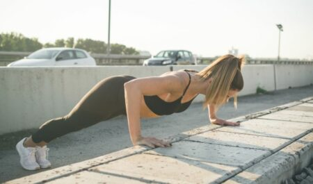 Crossfit Tabata Workouts At Home - Push-Ups workout