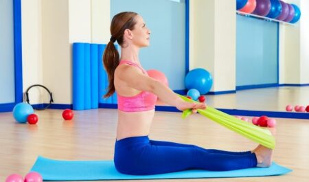 Standing Cable Row - Seated Band Row Workout