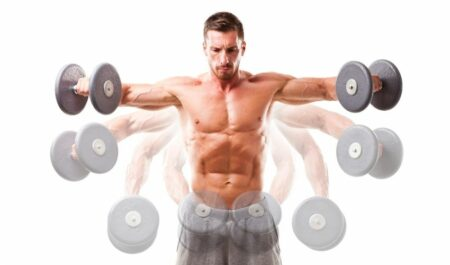 Bent Over Lateral Raise - Dumbbell lateral raise