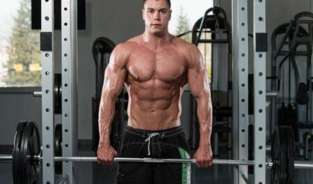 Dumbbell Push Press - trapezius workout
