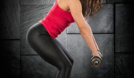Back Workouts For Women - Bent Over Row