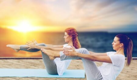 best yoga poses for weight loss - Boat Pose