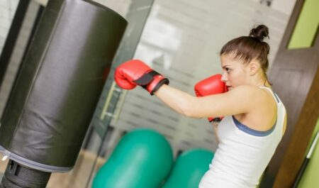 Weight Loss Boxing Workout - Boxing Female