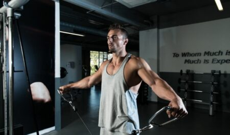 Cable Lateral Raise - Cable Lateral Raise Machine