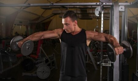Tricep Workouts With Dumbbells - Dumbbell Rear Delt Fly
