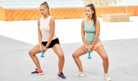 lower body workouts - Dumbbell Sumo Squat