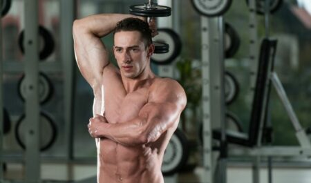 Chest Workouts With Dumbbells - Tricep Exercises
