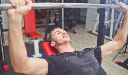 Barbell Front Raise - Incline Barbell Front Raise