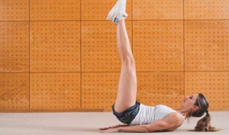Back Workouts For Women - Leg Raise