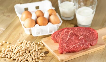 Types Of Belly Fat - Protein-rich food