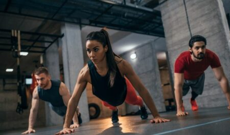 Jump Rope Workouts - Push-ups