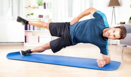 Arm Workouts At Home - Side Plank