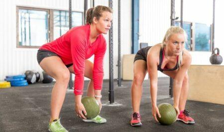 Slam Ball Exercises - Slam ball workout