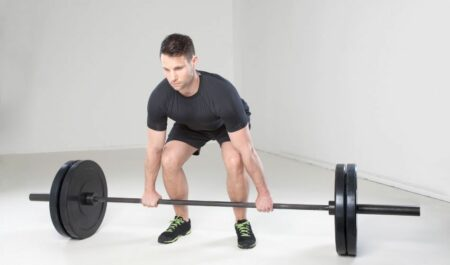 Leg Workouts For Men At Home - Stiff Leg Deadlifts