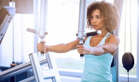 Chest Workouts For Women - chest workout with machine