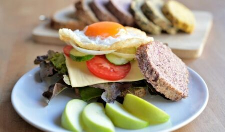 Lose 5 Pounds In A Week - egg sandwich
