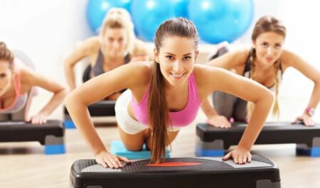 Chest Workouts For Women - push up