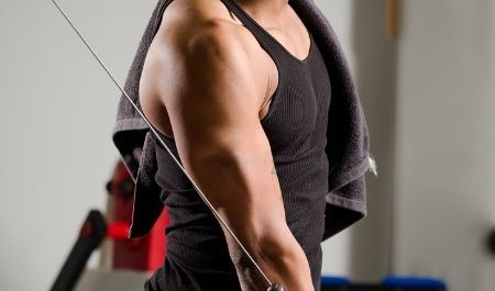 Cable Tricep Extension Single Arm