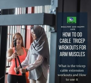 Cable Tricep Extension