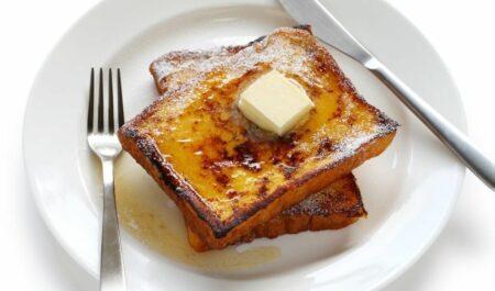 What Does Eggnog Taste Like - Eggnog French Toast