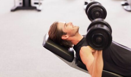 Incline Dumbbell Bench Press - Incline Dumbbell Press Angle